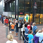 huge lineups at Anne Franks House in Amsterdam, Noord Holland, Netherlands