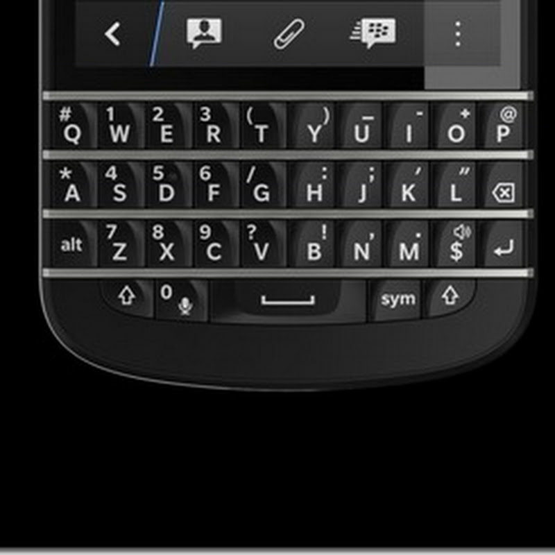 BlackBerry Q10, el primer smartphone BlackBerry 10 con teclado QWERTY