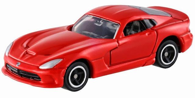 Mô hình Tomica 11 SRT Viper GTS mô phỏng chiếc xe 2 chỗ ngồi màu đỏ rất đẹp mắt
