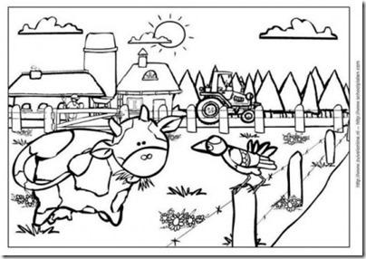 granja y animales colorear (7)