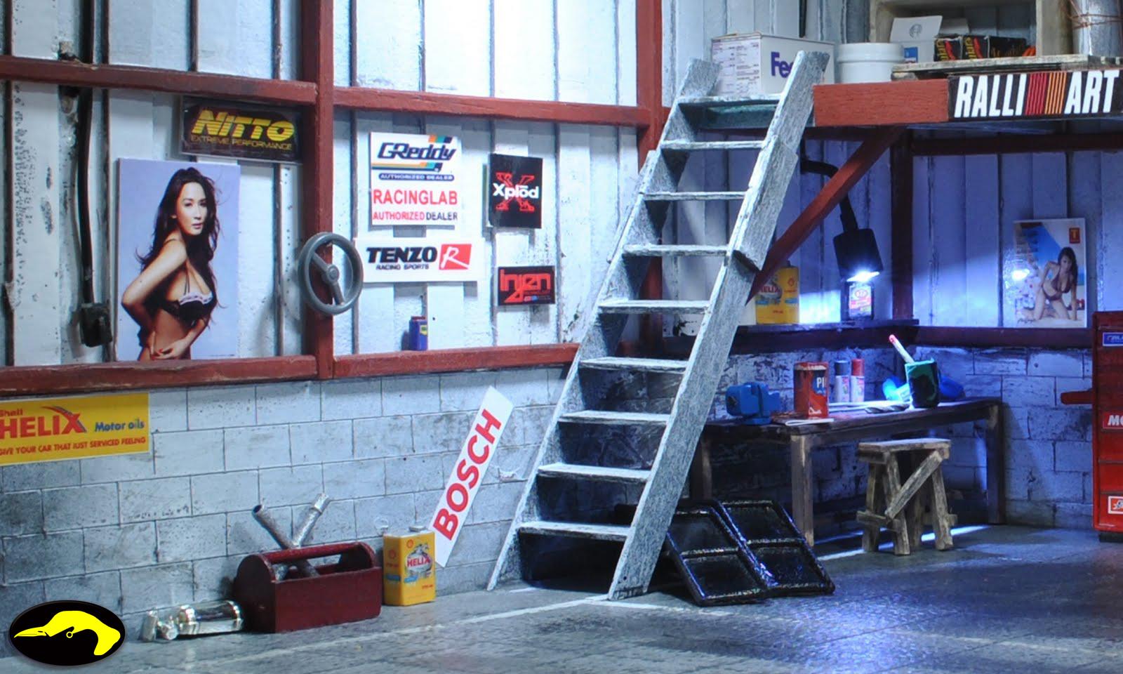 Bowerbird Garage Street Tuner Garage Diorama Ehra Ii