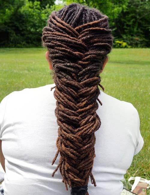 2018 Dreadlocks Hairstyles for African Black Women 4