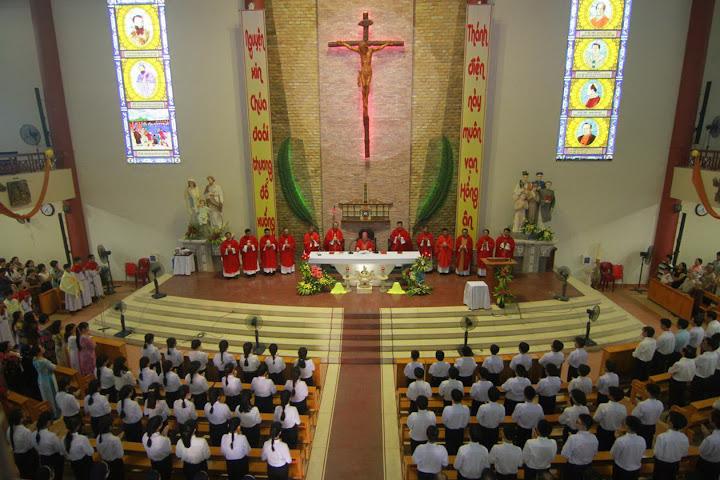 Giáo xứ Phước Hải: kỷ niệm 55 năm thành lập Giáo xứ và 10 năm cung hiến.