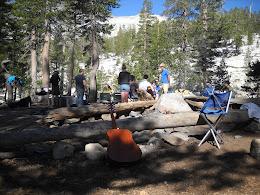 Base camp.