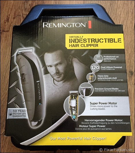 Remington-Hårklippare-Test