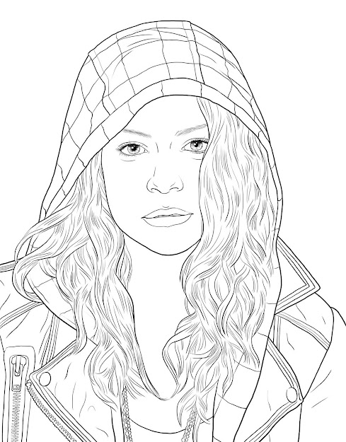 Orphan Black The Official Coloring Book In