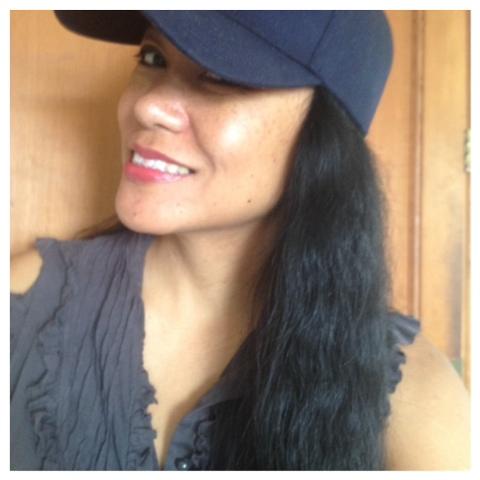Wearing my baseball cap