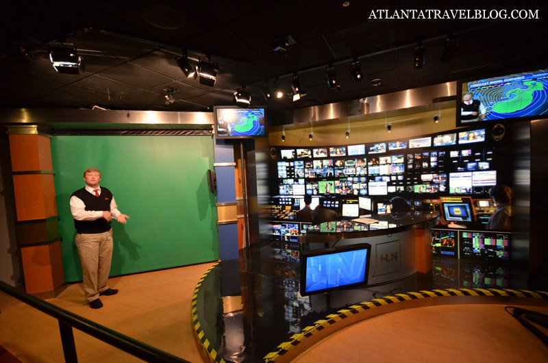 Inside CNN Studio Tour