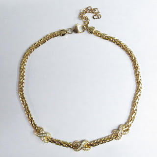 Christian Dior Costume Necklace