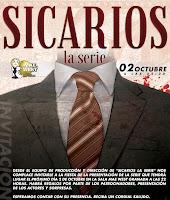 Presentación de la serie Sicarios