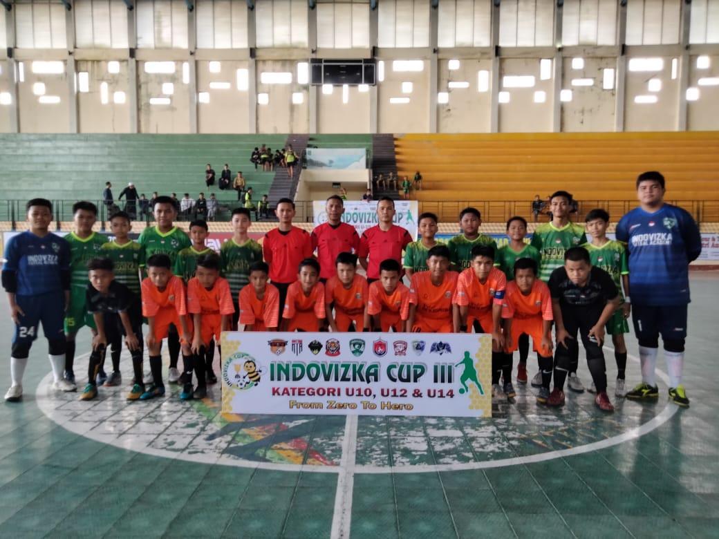 IFA Tembilahan Sukses Gelar Turnamen Futsal INDOVIZKA CUP III Tahun 2021