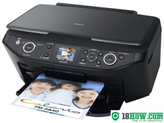 How to Reset Epson PM-A840 printing device – Reset flashing lights error