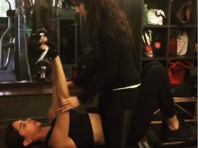 Deepika padukone's GYM Workout