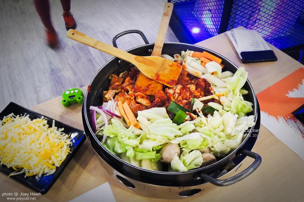 OMAYA 春川炒雞 起司春川炒雞排鍋 韓式料理 彰化店