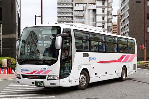 西日本鉄道「ひた号」 4857