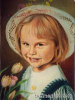 Портрет цветной, выполнен маслом на холсте, размер 30Х40 см