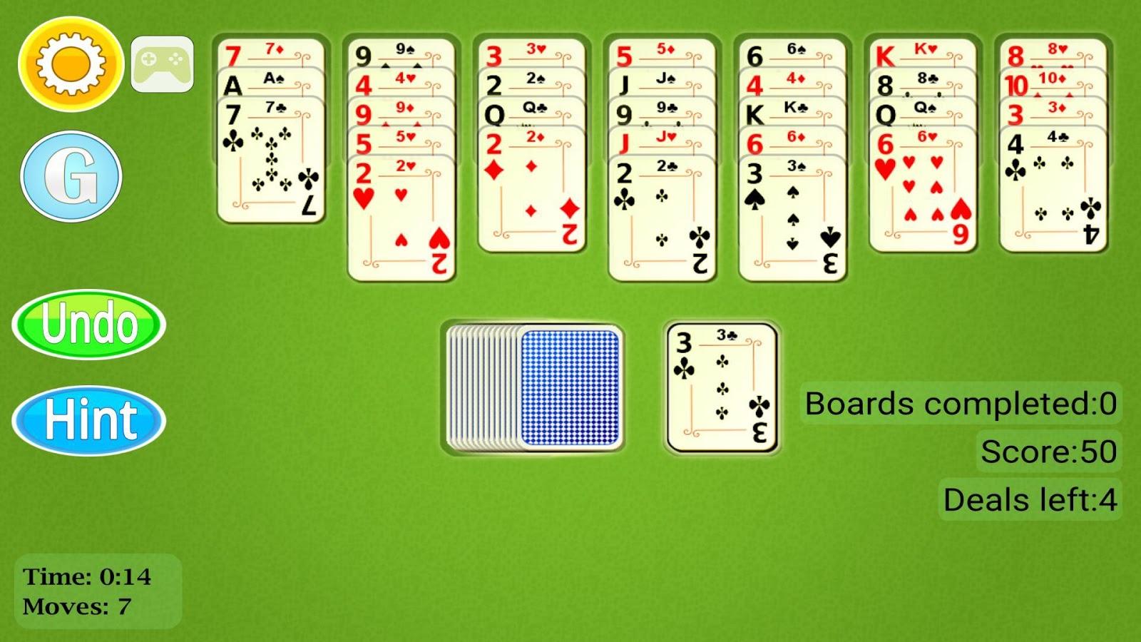 solitaire mobile app