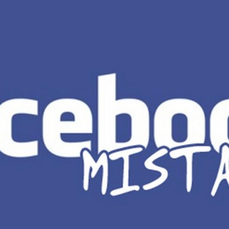 Jangan pernah kamu lakukan kesalahan ini di Facebook