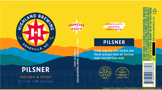 Highland Brewing Rebranding Continues With Oatmeal Porter, Southern Sixer, Black Mocha Stout, Gaelic Ale, St. Terese's, Imperium, Daycation, Mandarina IPA, Pilsner & AVL IPA