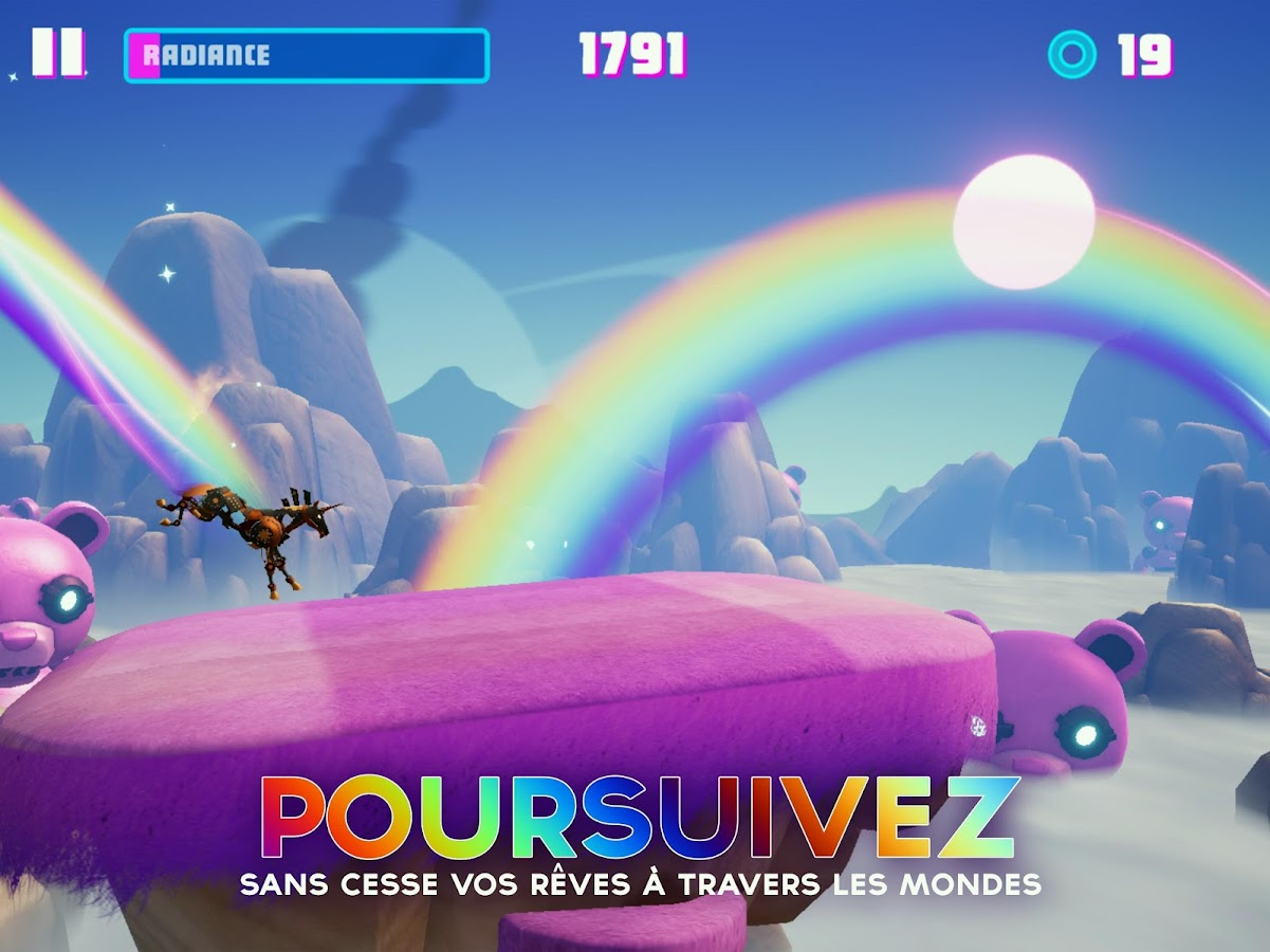 Robot Unicorn Attack 3 – Capture d'écran