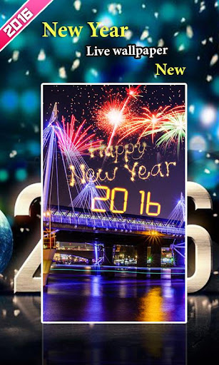 New Year Live Wallpaper2016new