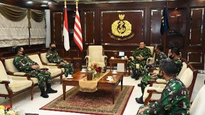 Kasal Terima Laporan Korps Kenaikan Pangkat Delapan Pati TNI AL