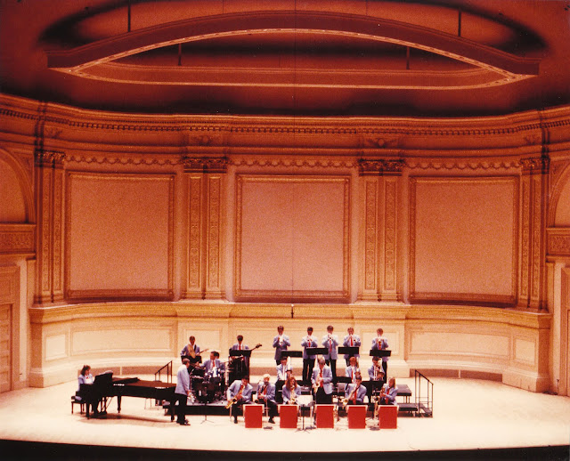 Fort Worth Youth Jazz Band at Carnegie Hall 1990