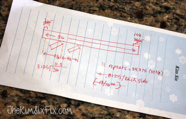 Calculating angle of louver screen