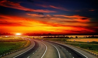 highway_dawn