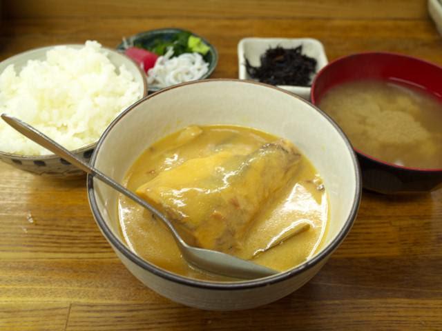 さば味噌煮定食@渋谷魚力