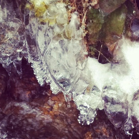 icicles, winter time, nature, Limousin, creuse, de tout coeur limousin, snow, countrylife, France, streams, spring water