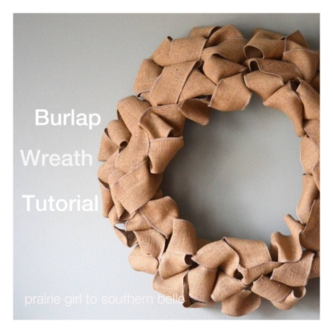 blogger image 1941080584 Easy Burlap Wreath Tutorial