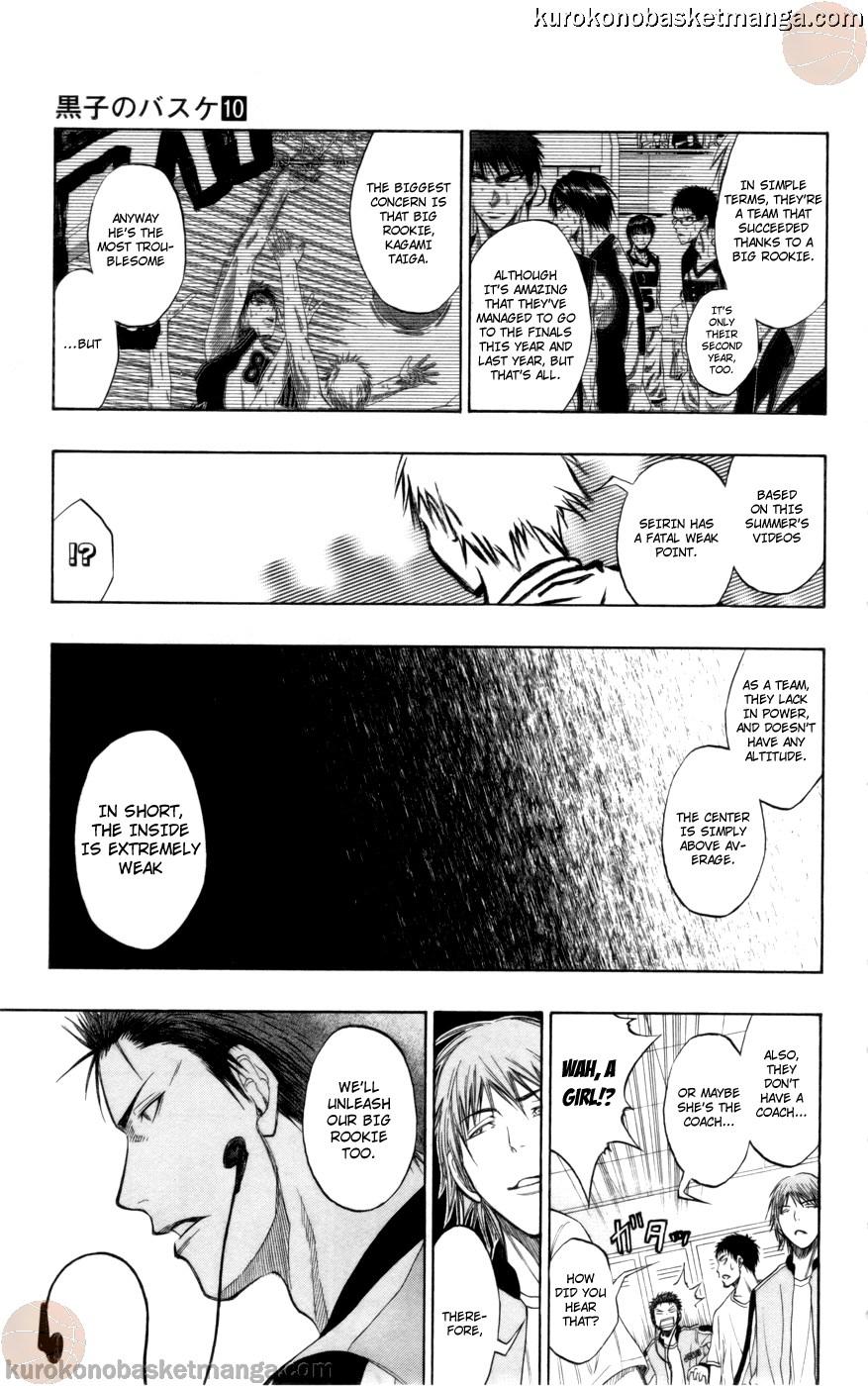 Kuroko no Basket Manga Chapter 81 - Image 19
