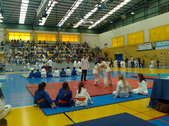 Participantes durante la competición.