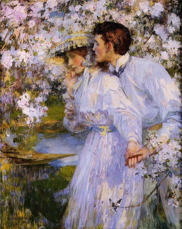 James Jebusa Shannon - Springtime 1896