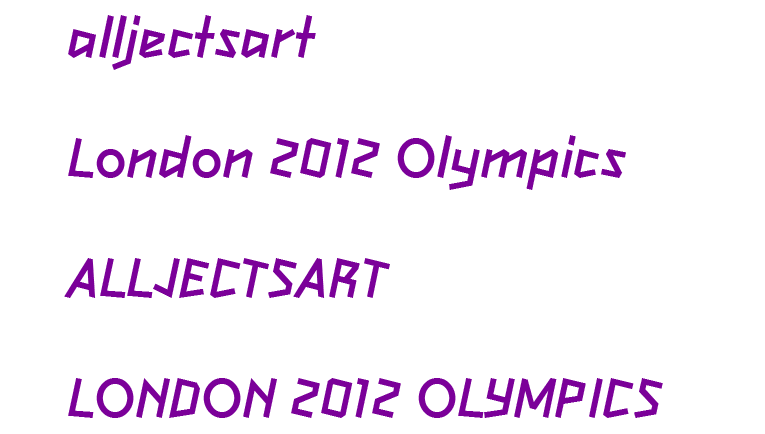 London 2012 Olympics Fonts - Free Download, Olympic Games, Free Fonts