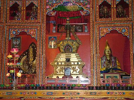 Lama Yeshe's Stupa at Kopan Monastery, Nepal.