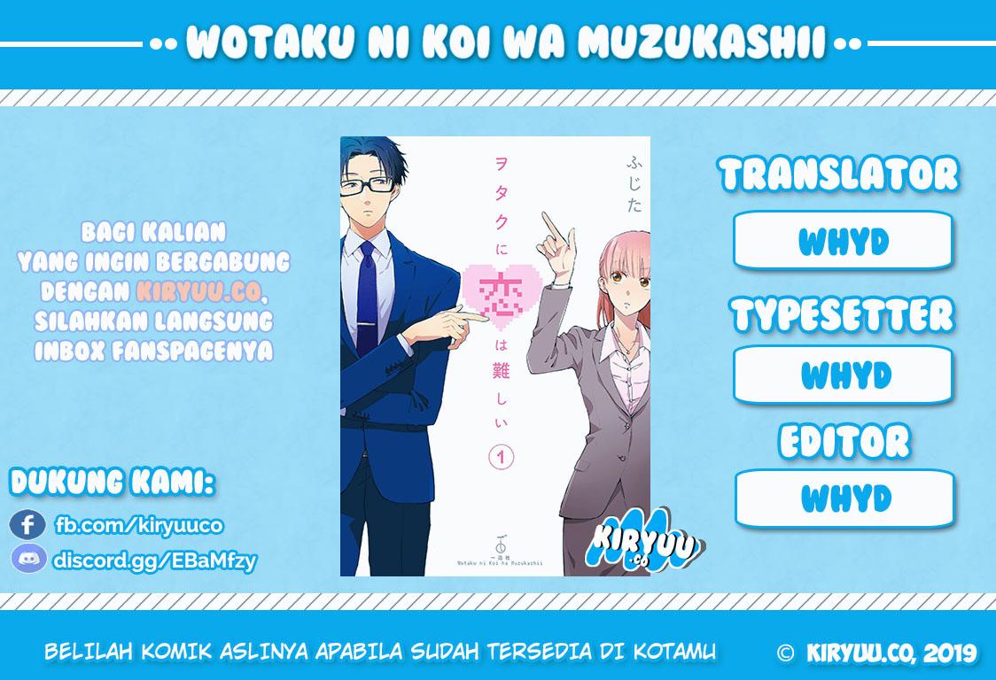 Wotaku ni Koi wa Muzukashii Chapter 31-1
