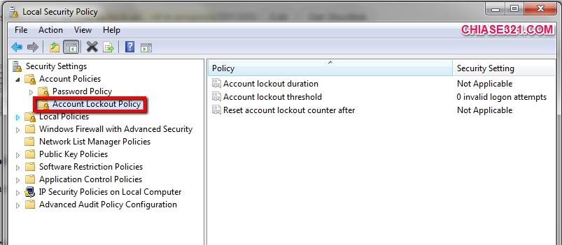 khóa máy tính tạm thời khi người khác đăng nhập không được