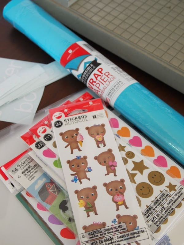 sticker book supplies