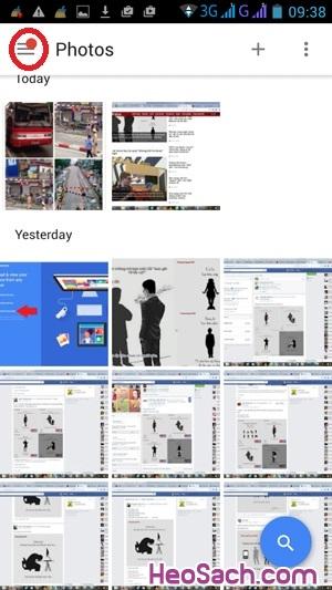 Hình 6 - Sao lưu ảnh với Google Photos trên điện thoại