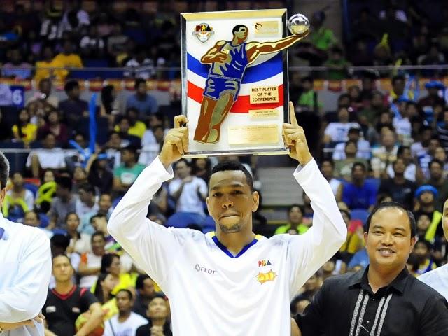 Jayson Castro wins Best Player award, Richard Howell Best Import 5-13-2014-02