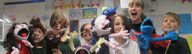 Puppetry residency Duffy Primary