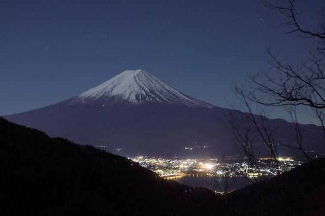 御坂峠 富士山