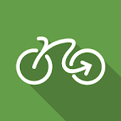 Geovelo - bike GPS Icon