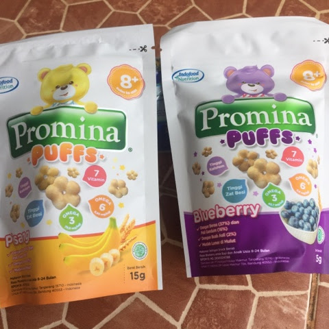 Promina Puffs Snack Bayi 8 Bulan | Review