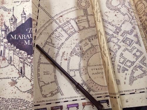 Universal Orlando Merch - Interactive Harry Potter Marauder\'s Map
