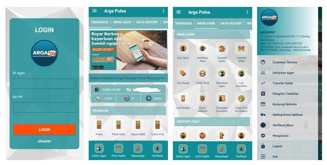 APK Arga Pulsa Mobile Partner