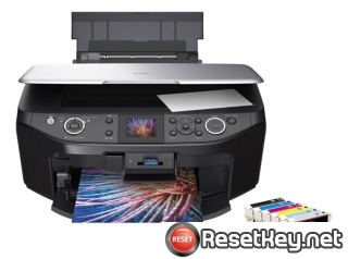 Resetting Epson RX610 printer Waste Ink Counter