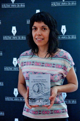 """""""Um trio à descoberta no Alto Douro Vinhateiro"""" - Um livro dedicado às crianças"""